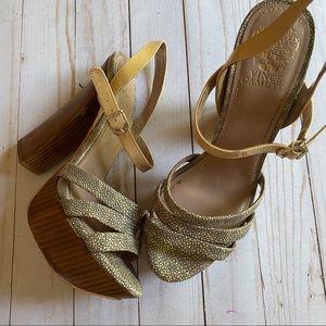 Vince Camuto platform heels